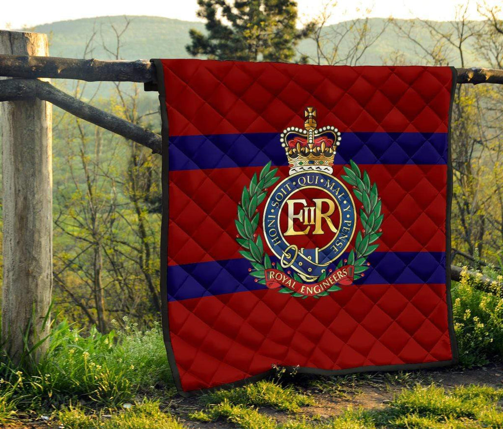 quilt Royal Engineers Quilted Blanket