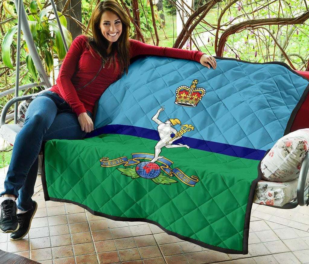 quilt Royal Signals Quilted Blanket