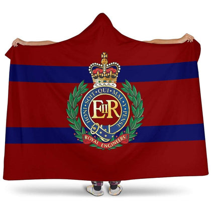 Royal Engineers Premium Hooded Blanket