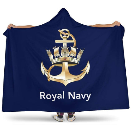 Royal Navy Premium Hooded Blanket
