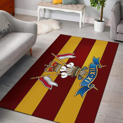 rug 9th/12th Royal Lancers Rug