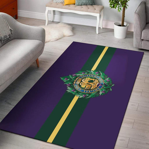rug Argyll and Sutherland Highlanders Rug