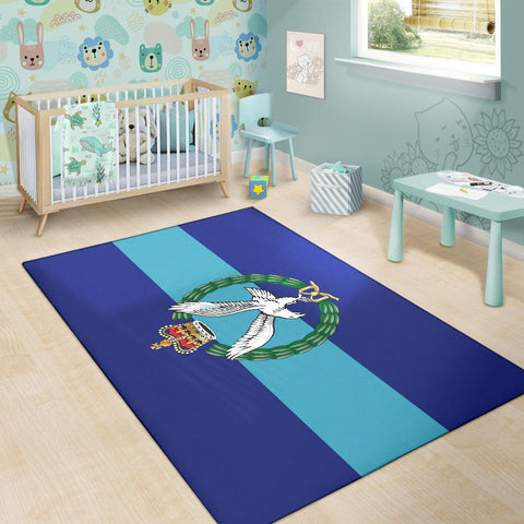 Image of rug Army Air Corps Rug