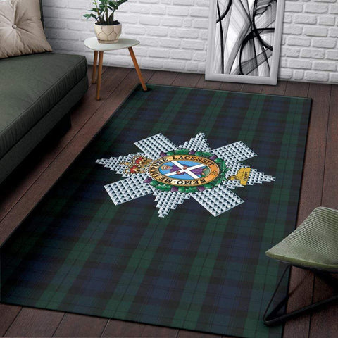 Image of rug Black Watch Rug