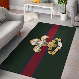 rug King's Regiment Rug