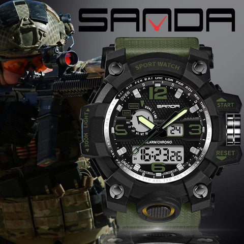 Image of watch Military Sports Watch - Sanda 742