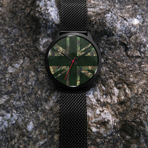 Union Flag Camo Watch