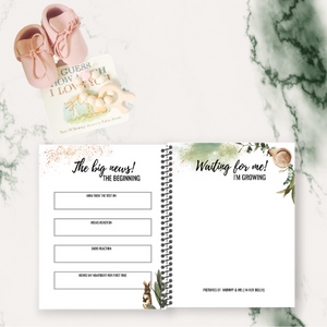 BABY MEMORY BOOK (DESIGN EIGHT)