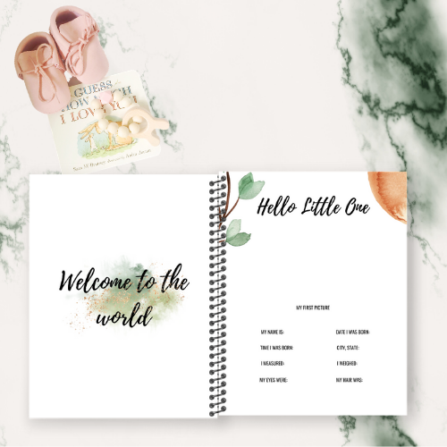 BABY MEMORY BOOK (DESIGN TEN)