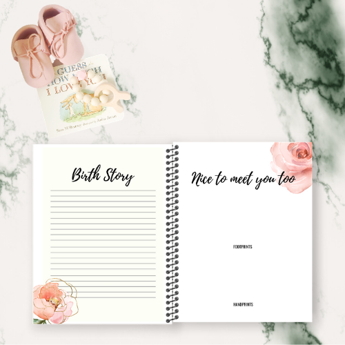 BABY MEMORY BOOK (DESIGN FIFTEEN)