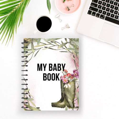 BABY MEMORY BOOK (DESIGN THIRTEEN)