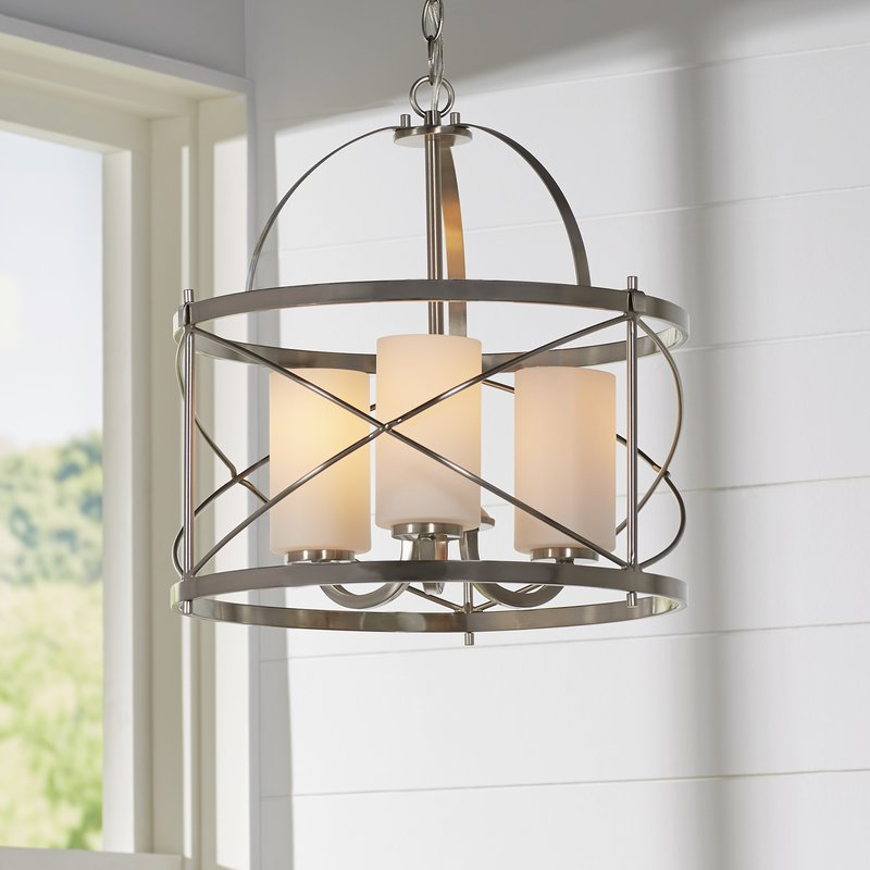 Rieger 3-Light Foyer Pendant