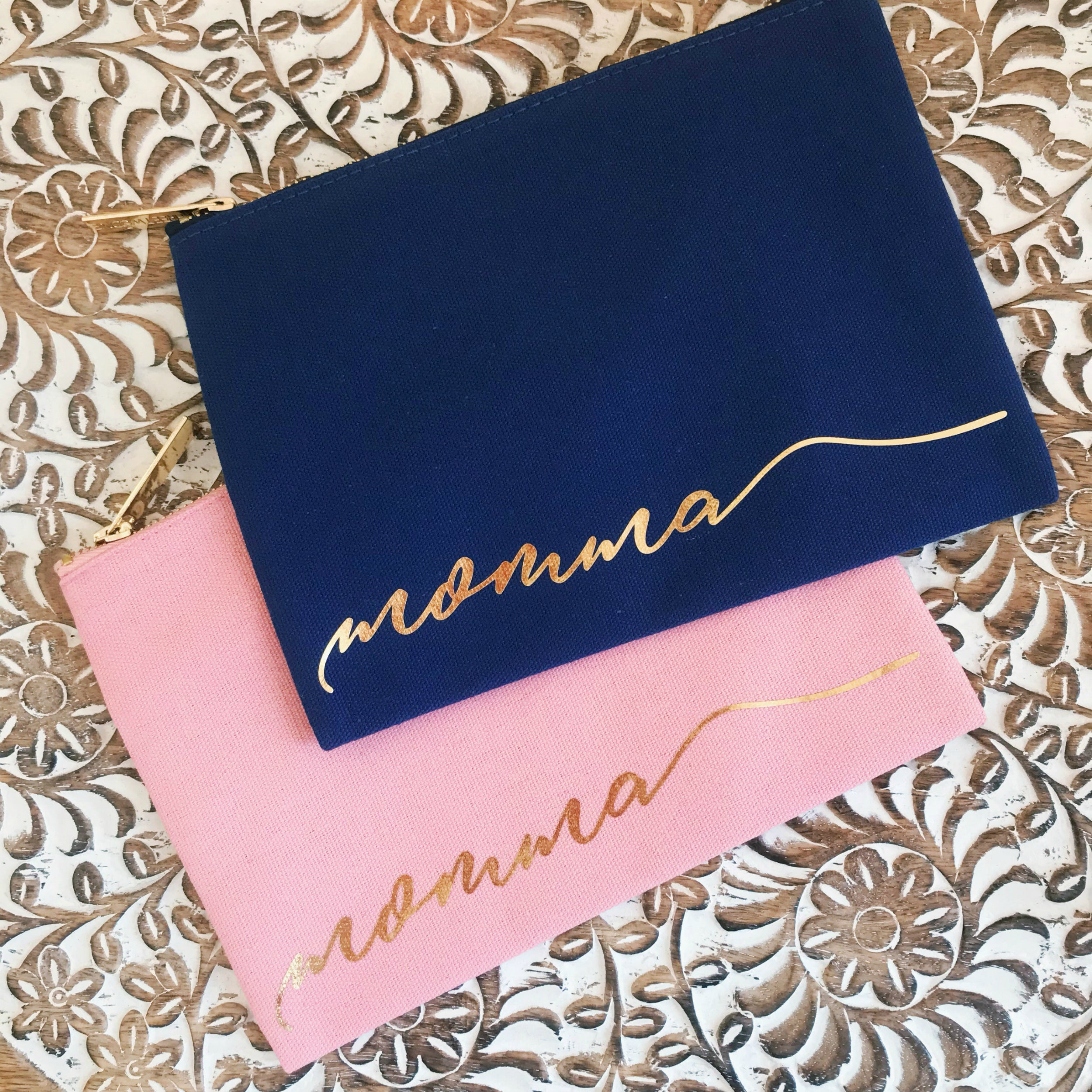 momma cosmetic bag