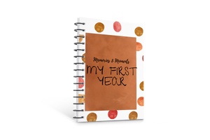 BABY MEMORY BOOK (DESIGN FIVE)