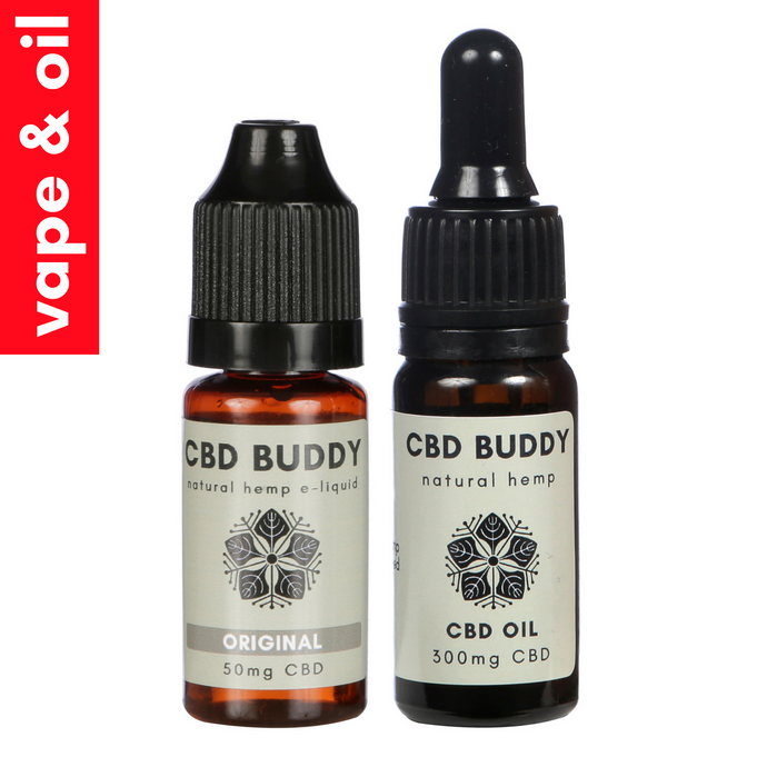 BEGINNERS: 50mg CBD Vape & 300mg CBD Oil