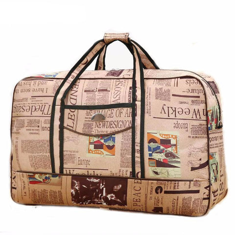 Fashion Travel Bag with Patterns