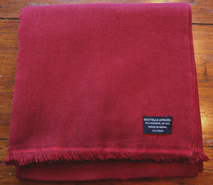 Burgundy Red Scarf