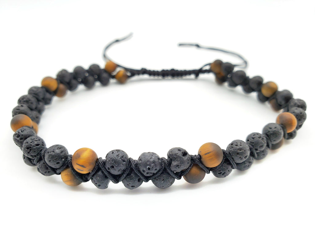 NEW** Double Strand Lava Anklet ~ Large