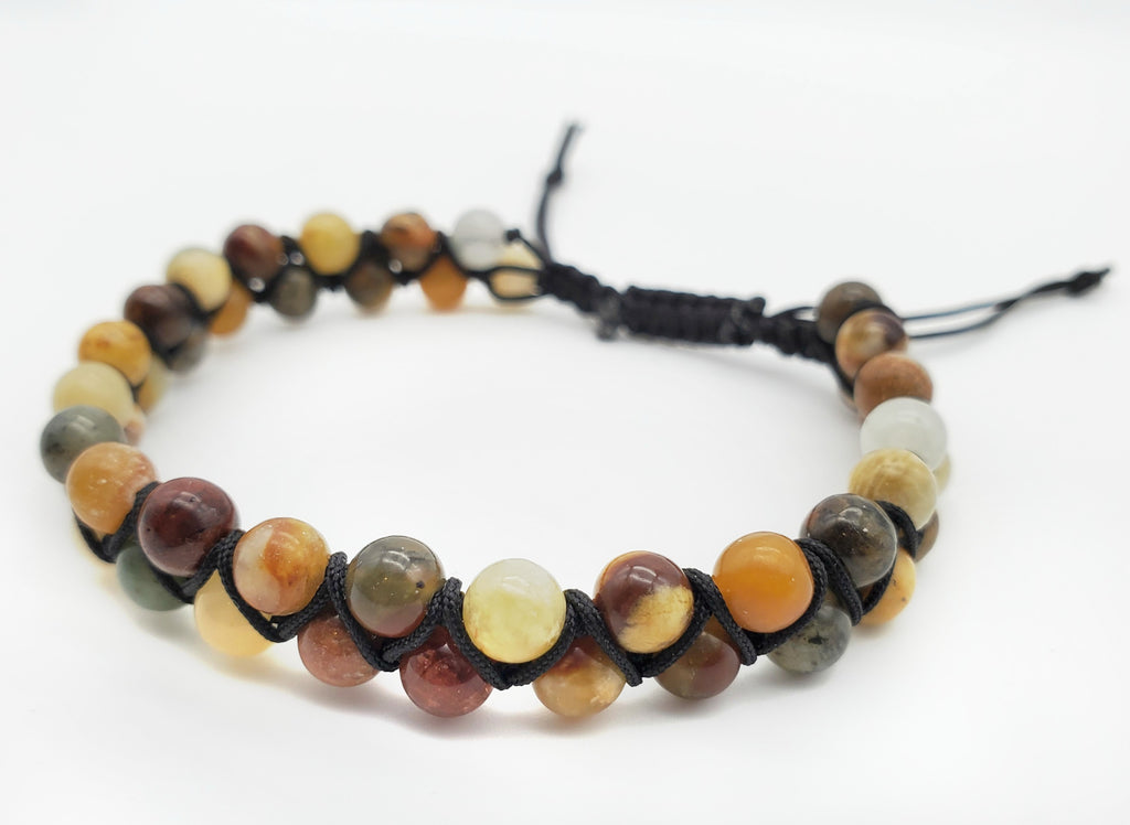 NEW** Agate and Jasper Bracelet