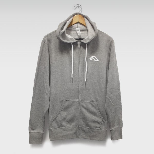 Above & Beyond A Logo Grey Zip-Up Hood