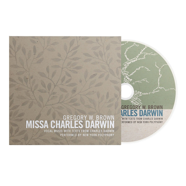 "GREGORY W. BROWN: MISSA CHARLES DARWIN (AS FEATURED IN THE NOVEL ""ORIGIN"" BY DAN BROWN) - UNSIGNED EDITION"