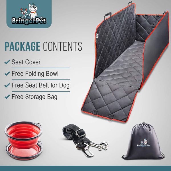 BringerPet | Dog Back Seat Cover | High-Quality Waterproof Seat Cover