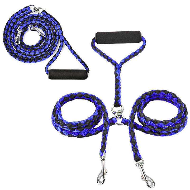 BringerPet | Double Dog Leash | No Tangle Dual Dog Leash | Double Dog Walker