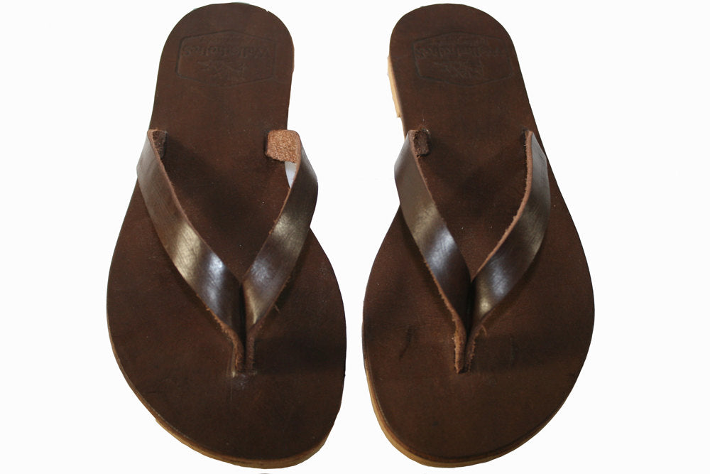 Brown Surf Leather Sandals for Men & Women