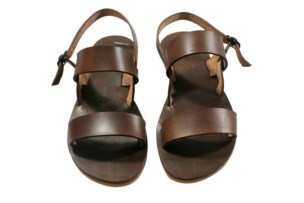 Brown Classic Leather Sandals for Men & Women