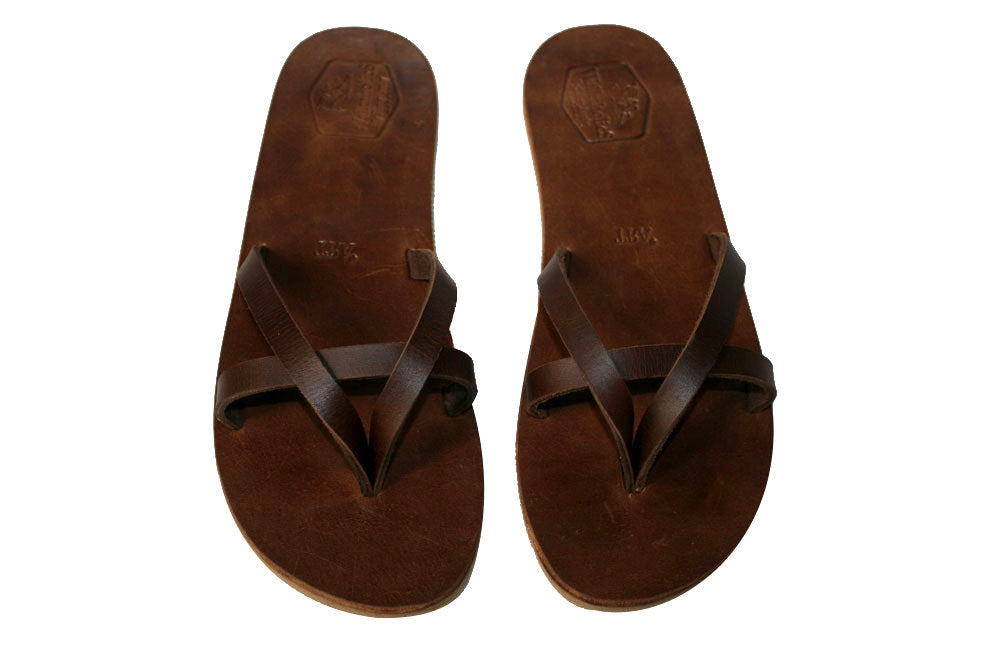 Brown Torr Leather Sandals for Men & Women