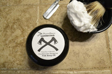 PleaseShave Ultra-Rich Lather Shave Soap With Hemp Oil (Lumberjack)