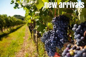 New Arrivals, New Wine Listings