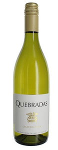 2019 Chardonnay, Quebradas, Central Valley, Chile
