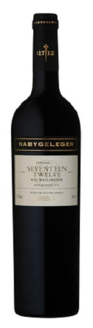 2009/12 Seventeen Twelve, Nabygelegen Private Cellar, Wellington, South Africa