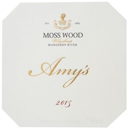 2015 Amy's, Moss Wood, Margaret River, Western Australia