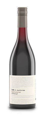 2019 Bob/ n. Short for Kate Pinot Noir, Bob By Ben Glover, Marlborough, New Zealand