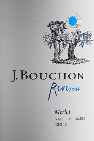 2016 Merlot Reserva, Julio Bouchon, Maule Valley, Chile
