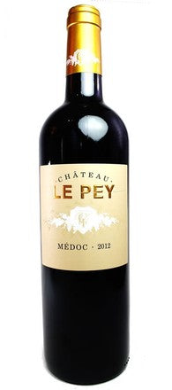 2015 Chateau le Pey, Medoc, Bordeaux, France (Halves)