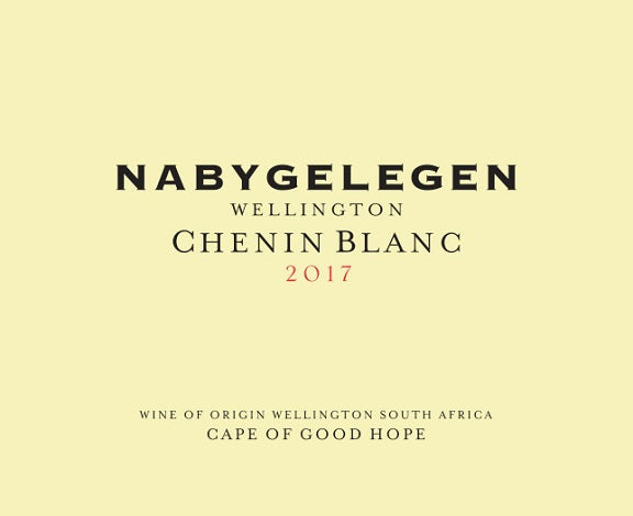 Chenin Blanc, Nabygelegen Private Cellar, Wellington, South Africa