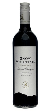 2017 Snow Mountain Cabernet Sauvignon, Klein Sneeuberg, Western Cape, South Africa