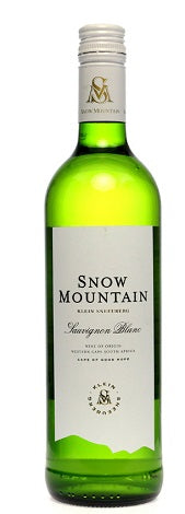 2018 Snow Mountain Sauvignon Blanc, Klein Sneeuberg, Western Cape, South Africa