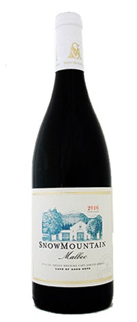 2018 Snow Mountain Malbec, Coastal Region, South Africa