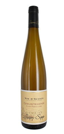 2016 Gewurztraminer, Cuvee Particuliere, Domaine Jean Sipp, Alsace, France