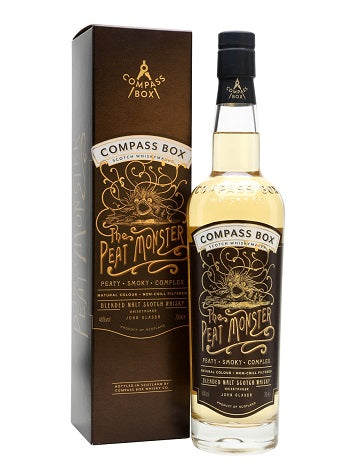Peat Monster, Compass Box, Blended Malt Scotch Whisky, Scotland