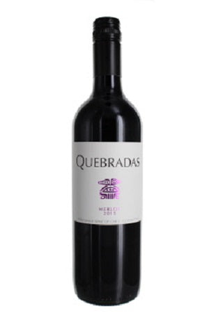 Merlot, Quebradas, Central Valley, Chile