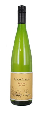 2016 Riesling Reserve, Domaine Jean Sipp, Alsace, France