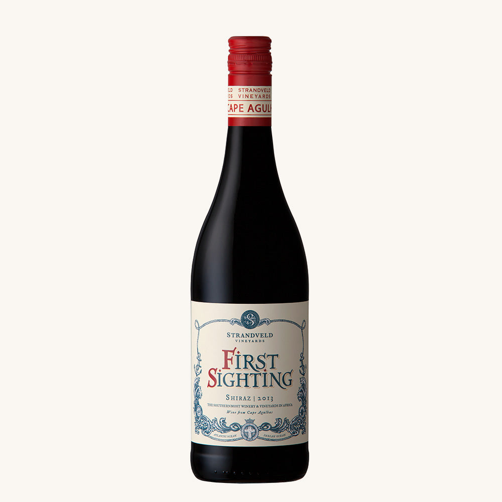 2017 First Sighting Shiraz, Strandveld, Western Cape, South Africa