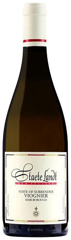2016 State of Surrender Viognier, Staete Landt, Marlborough, New Zealand