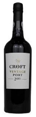 2011 Vintage Port, Croft, Douro, Portugal