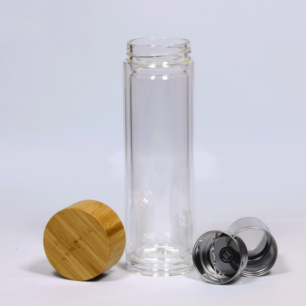 Clear Glass Bottle Infuser